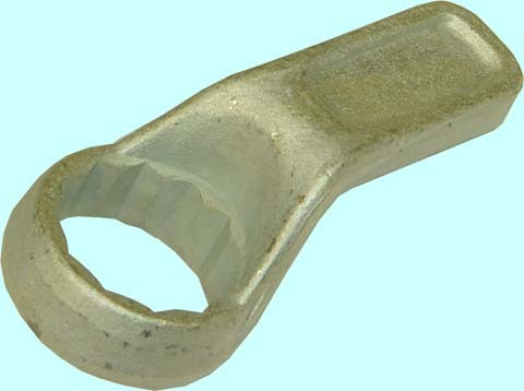 Ключ Накидной 30 односторонний,цинк. короткий.
